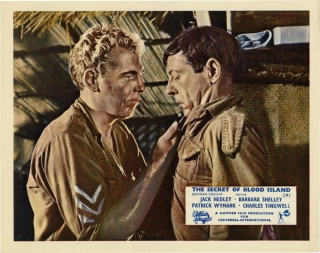 The Secret of Blood Island (Collection of 8 British front-of-house cards from the 1964 film)....