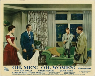 Oh, Men Oh, Women (Collection of 7 photographs from the 1957 film). Nunnally Johnson, Edward...