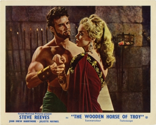 The Wooden Horse of Troy [The Trojan Horse] (Original photograph from the 1961 film). Giorgio...