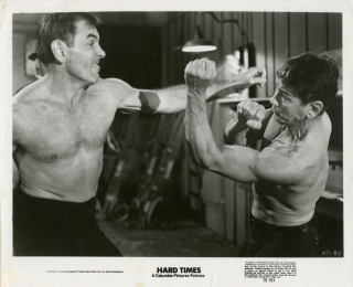 Hard Times (Collection of 7 photographs from the 1975 film). Walter Hill, Bryan Gindoff, Bruce...
