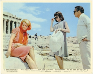In the Cool of the Day (Two original photographs from the 1963 film). Robert Stevens, Susan Ertz,...