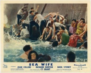 Sea Wife (Collection of 8 photographs from the 1957 film). Bob McNaught, J. M. Scott, George K....