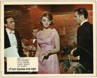 Agent 8 3/4 [Hot Enough for June] (Original British front-of-house card from the 1964 film)....