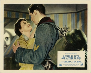 A Time to Love and a Time to Die (Collection of 8 photographs from the 1958 film). Douglas Sirk,...