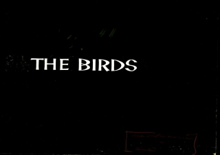 The Birds (Archive of original title card maquettes for the 1963 film). Harold Adler, Alfred...