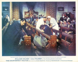 The Counterfeit Traitor (Collection of 3 photographs from the 1962 film). George Seaton,...