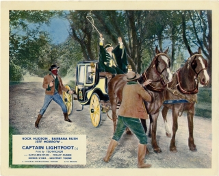 Captain Lightfoot (Original photograph from the 1955 film). Douglas Sirk, W. R. Burnett, Oscar...