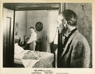 The Lovers (Collection of 12 photographs from the1958 film). Louis Malle, Louise de Vilmorin,...