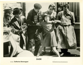 Zazie dans le metro (Collection of 3 photographs from the 1960 film). Louis Malle, Raymond...