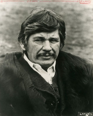 Breakheart Pass (Original photograph from the 1975 film). Tom Gries, Alistair MacLean, Ken Bell, Ben Johnson Charles Bronson, Jill Ireland, Richard Crenna, director, screenwriter novel, still photographer, starring.