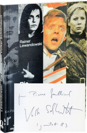 Die Filme von Volker Schlondorff (First Edition, inscribed by Schlondorff). Rainer Lewandowski