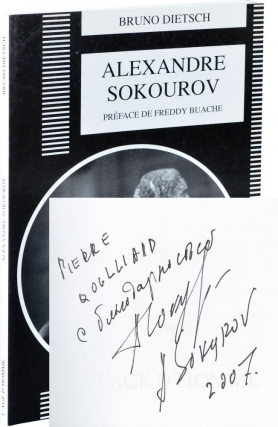 Alexandre Sokourov (First Edition, inscribed by Sokourov). Bruno Dietsch, Freddy Buache