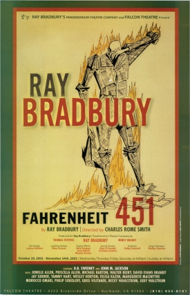 Archive of 10 posters from Ray Bradbury plays