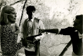 Bonnie and Clyde (Original double weight photograph from the 1967 film). Arthur Penn, Lee...
