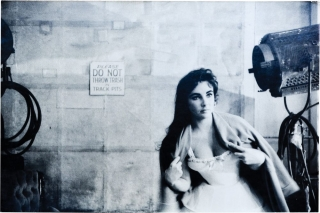"Elizabeth Taylor on the set of ""Raintree County"" (Original oversize photograph from the 1956..."