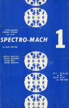 Spectro-Mach 1 production archive
