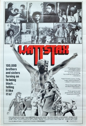 Wattstax (Two original posters for the 1973 documentary). Mel Stuart, Richard Pryor Isaac Hayes,...