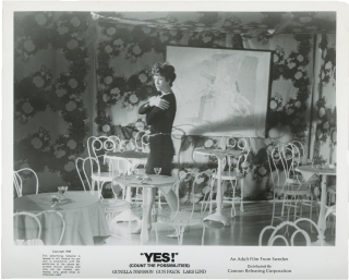 Yes [Count the Possibilities] [To Ingrid, My Love, Lisa] (Two film photographs from the 1968...