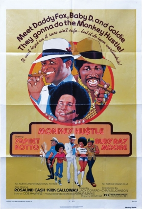 The Monkey Hustle [The Monkey Hu$tle] (Original poster for the 1976 film). Arthur Marks, Charles...