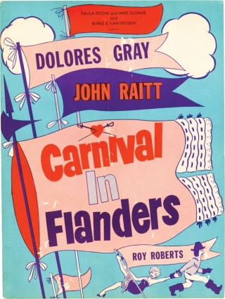 Carnival in Flanders (Original program from the 1953 play). Preston Sturges, John Raitt Dolore...