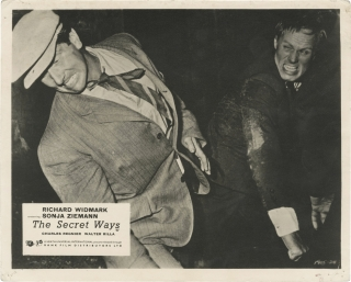 The Secret Ways (Original double weight photograph from the 1961 film). Alistair MacLean, Phil...