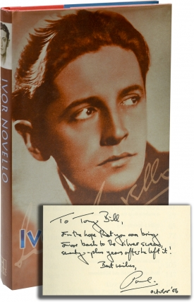 Ivor Novello: Portrait of a Star (First UK Edition, Signed, copy belonging to Tony Bill). Paul Webb