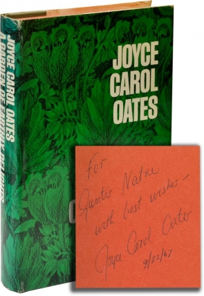 The Garden of Earthly Delights (Signed First Edition). Joyce Carol Oates