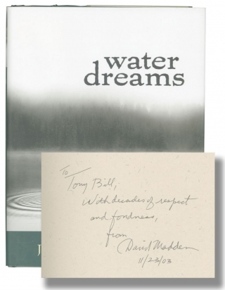 Water Dreams (First Edition, Tony Bill's copy). Jeanne McDonald