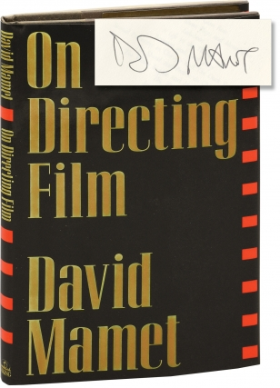 On Directing Film (Signed First Edition). David Mamet