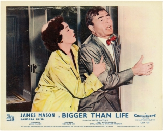 Bigger Than Life (Two original British front-of-house cards from the 1956 film). Nicholas Ray,...