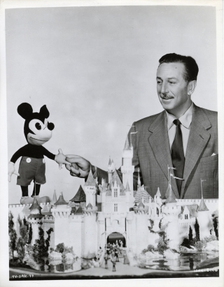 Walt Disney's Wonderful World of Color (Photograph from the television series). Walt Disney,...