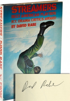 Streamers (Signed First Edition). David Rabe