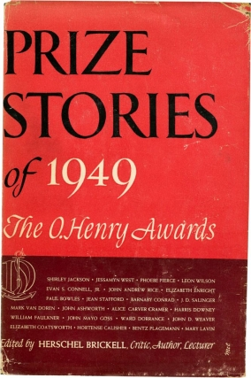 Prize Stories of 1949 (First Edition). J. D. Salinger, Phoebe Pierce Shirley Jackson, Paul...