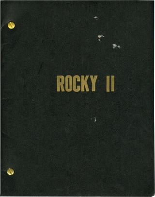Rocky II (Original screenplay for the 1979 film). Sylvester Stallone, Talia Shire Carl Weathers,...