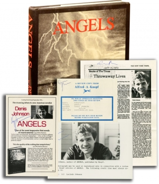 Angels (Signed First Edition, review copy). Denis Johnson