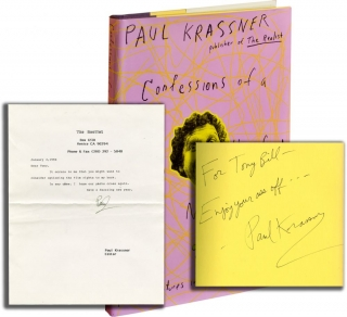 Confessions of a Raving Unconfined Nut: Misadventures in the Counter-Culture (Signed First Edition, with TLS). Paul Krassner.