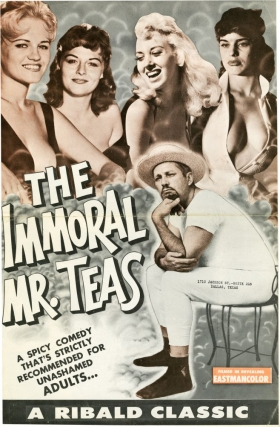 The Immoral Mr. Teas (Two original pressbooks for the 1961 re-releases of the 1959 film). Russ Meyer, Ann Peters Bill Teas, Dawn Danielle, Michele Roberts, Marilyn Wesley, screenwriter director, starring.