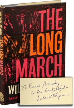 The Long March (First UK Edition, Signed). William Styron
