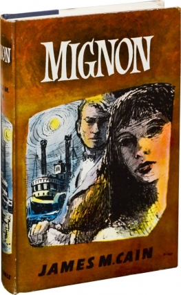 Mignon (Original dust jacket artwork study for the First UK Edition). James M. Cain, Biro, artist.