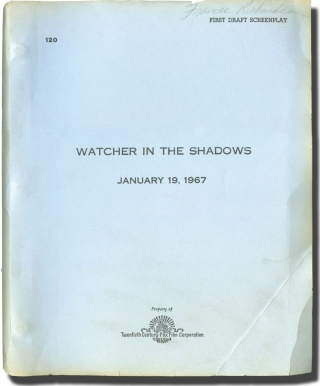 Watcher in the Shadows (Original screenplay for an unproduced film). Geoffrey Household, Marvin...
