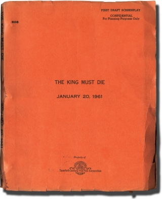 The King Must Die (Original screenplay for an unproduced film). Norman Corwin, Mary Renault,...