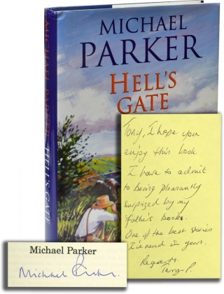 Hell's Gate (First UK Edition, Signed). Michael Parker