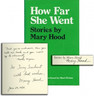How Far She Went (Signed First Edition). Mary Hood