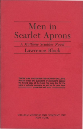 Dance at the Slaughterhouse [Men in Scarlet Aprons]. Lawrence Block.