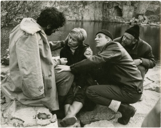 The Touch [Beroringen] (Original still photograph from the set of the 1971 film). Ingmar Bergman,...