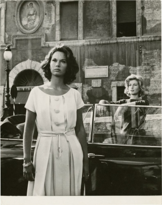 L'Avventura (Original oversize photograph from the 1960 film). Michelangelo Antonioni, Enrico...
