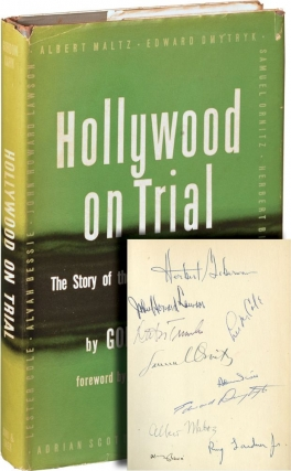 Hollywood on Trial (First Edition, signed by every member of the Hollywood Ten). Hollywood Ten, Gordon Kahn, Thomas Mann.