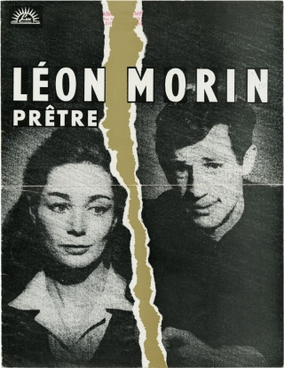 Leon Morin, pretre [priest] (Original French promotional book 1961 film). Jean-Pierre Melville,...