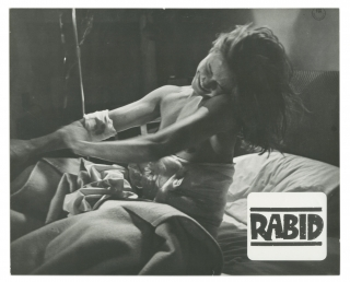 Rabid (Two original photographs from the Canadian release of the 1977 film). David Cronenberg,...