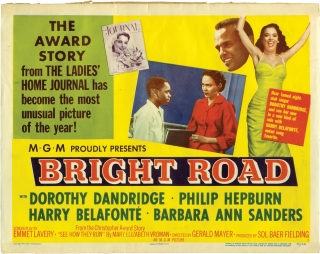 Bright Road (Set of 4 lobby cards for the 1953 film). Gerald Mayer, Emmet Lavery, Mary Elizabeth...